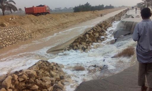f031472c7 وزارة الري تغرق «في شبر مياه» .. وتفشل في مواجهة السيول | بوابة ...