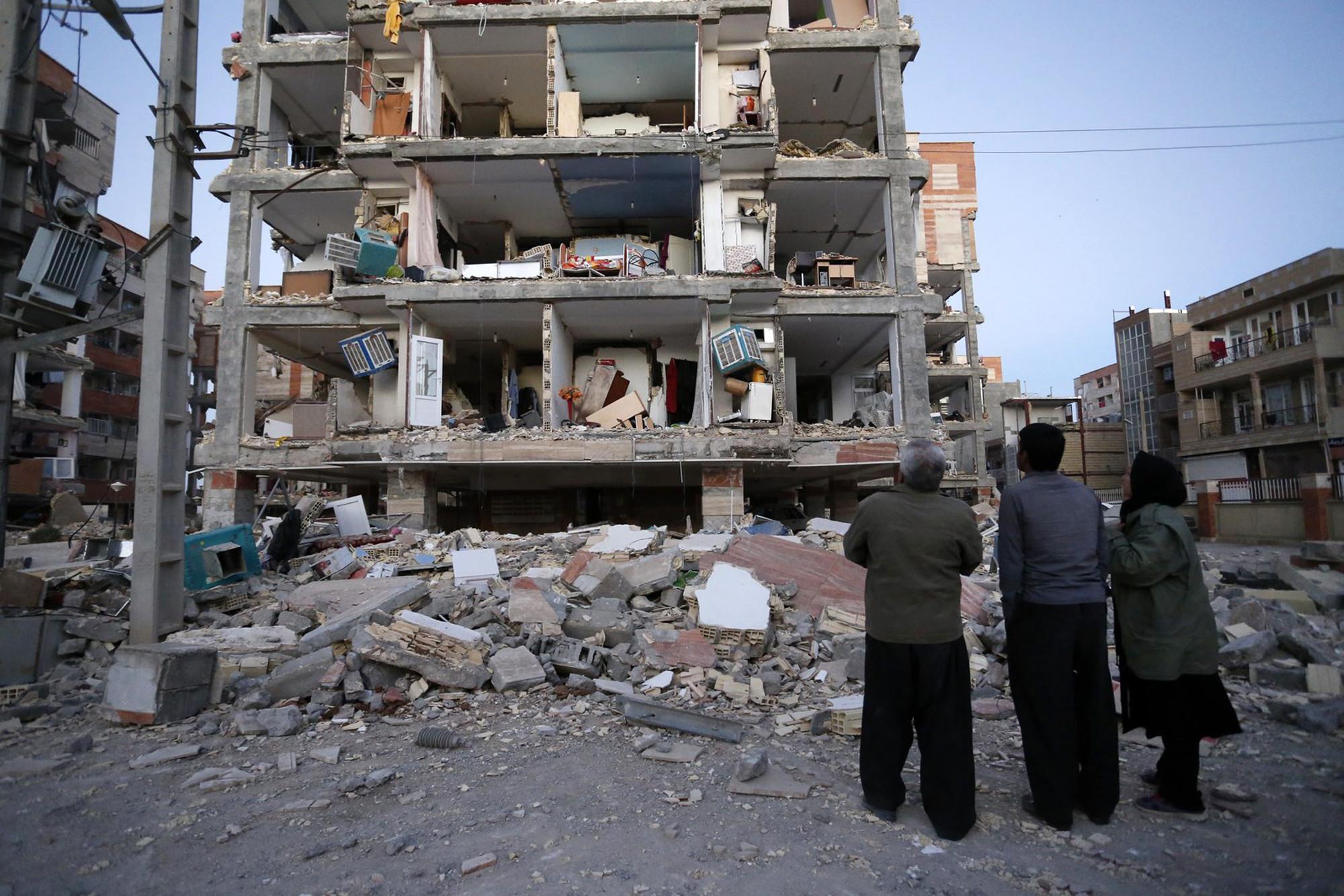 زلزال بإيران