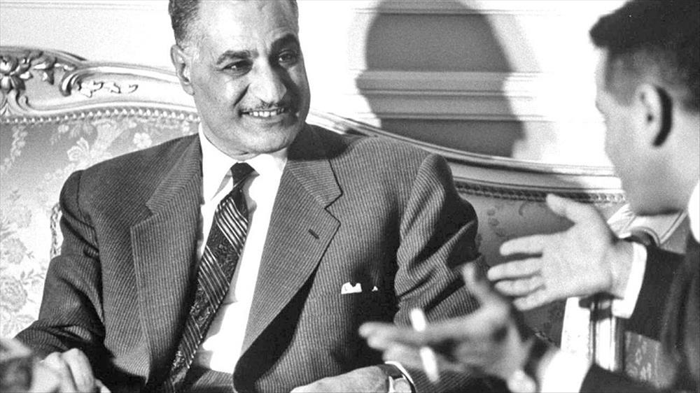 عبد الناصر في عيون الشرق والغرب الزعيم والعدو صور بوابة