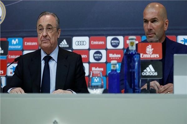 ريال مدريد - زيدان