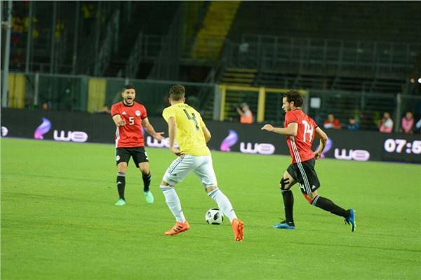 نتيجة بحث الصور عن صور من مباراة مصر وكولومبيا