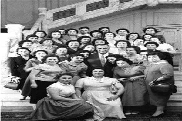 تعليم المرأة في عهد جمال عبد الناصر