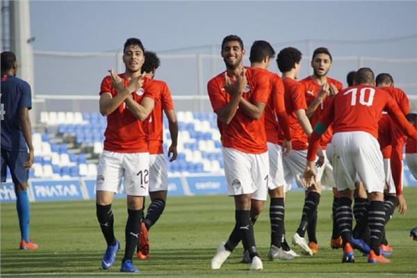 منتخب مصر الأولمبي يلتقي جنوب إفريقيا وديا الليلة بوابة