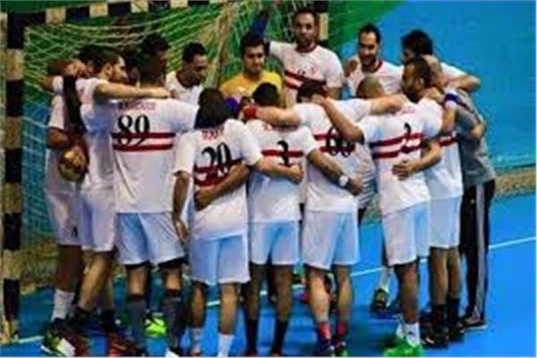 أحمد الأحمر يد الزمالك أفضل فريق في إفريقيا بوابة أخبار