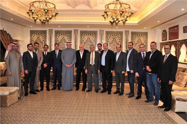 نقلي يكرم مجلس الأعمال السعودي المصري | بوابة أخبار اليوم الإلكترونية