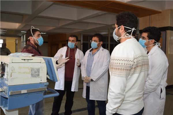 دورة تدريبية لطلبة امتياز بطب المنوفية عن أساسيات التنفس الصناعي | بوابة  أخبار اليوم الإلكترونية