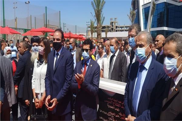 انطلاق فعاليات افتتاح المرحلة الثانية من المنطقة اللوجيستية بطنطا بحضور 3  وزراء | بوابة أخبار اليوم الإلكترونية