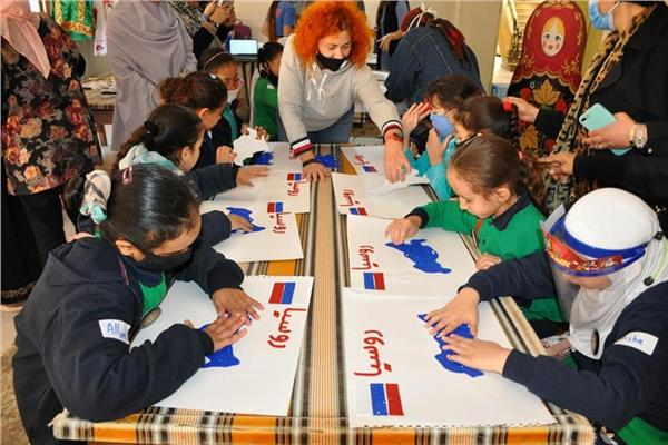 يوم ثقافي روسي لأطفال النور والأمل