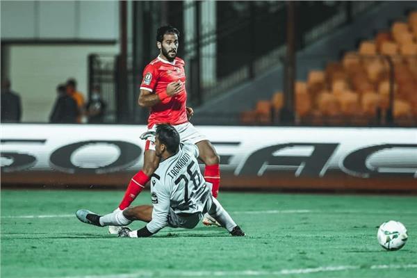 مروان محسن لاعب الاهلي